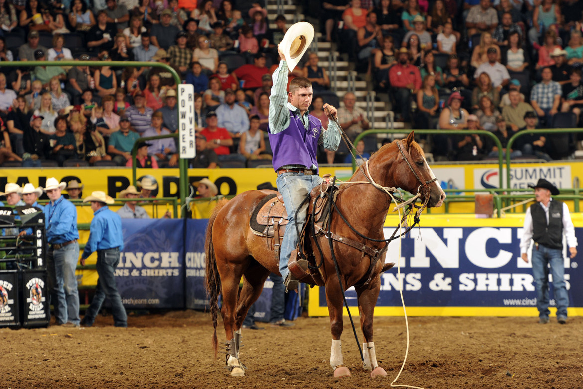 Saturday Finals College National Finals Rodeo Casper